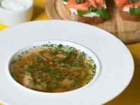 Суп с благородными грибами